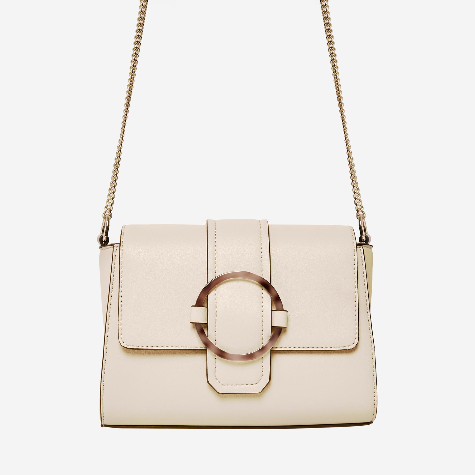 cream cross body bag