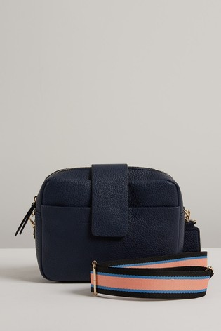 navy crossbody bag