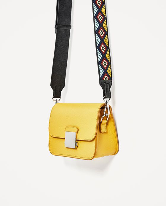 thick strap cross body bag